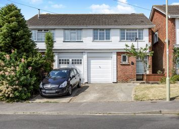 Thumbnail 4 bed semi-detached house to rent in Furneaux Gardens, Fareham