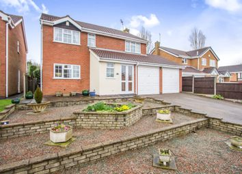 Thumbnail 4 bed detached house for sale in Nelson Drive, Hinckley