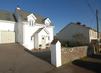Thumbnail 4 bed link-detached house for sale in Abbotsham, Bideford