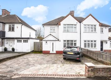 Thumbnail 3 Bed Semi Detached House For Sale In Pinner Road Northwood