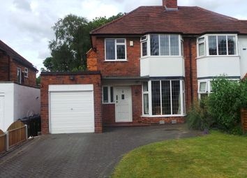 Thumbnail 3 bed semi-detached house for sale in Kineton Road, Sutton Coldfield