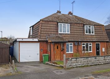 Thumbnail 2 bed semi-detached house for sale in Underhill, Moulsford, Wallingford