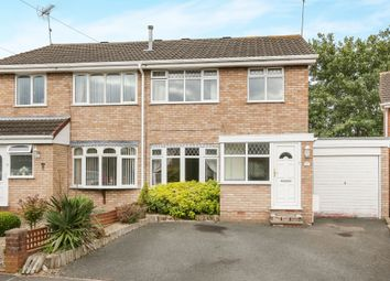 Thumbnail 3 bed semi-detached house for sale in Carlyle Avenue, Kidderminster
