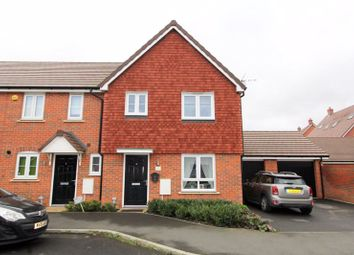 Thumbnail 3 bed end terrace house for sale in Bridger Way, Maidstone