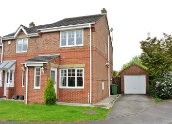 Thumbnail 2 bed property for sale in Leadley Croft, Copmanthorpe, York
