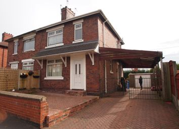 Thumbnail 3 bed semi-detached house to rent in Hazelhurst Road, Stoke-On-Trent, Staffordshire