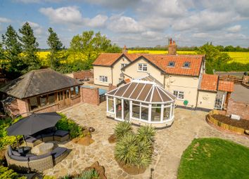 Thumbnail 4 bed detached house for sale in Aspall Green, Stowmarket, Suffolk