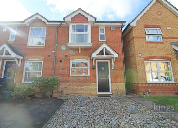 Thumbnail 2 bed end terrace house for sale in Doulton Close, Church Langley, Harlow
