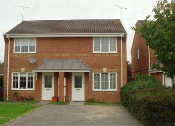 Thumbnail 2 bedroom semi-detached house to rent in Redbridge Close, Swindon