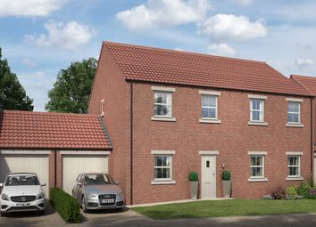 Thumbnail 3 bed semi-detached house for sale in Pickhill, Thirsk