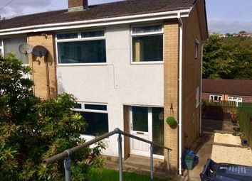 Thumbnail 3 bed semi-detached house to rent in Westwood Drive, Quakers Yard