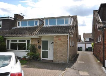 Thumbnail 3 bed semi-detached bungalow for sale in Holbeck Lane, Cheshunt, Waltham Cross
