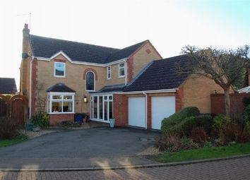 Thumbnail 4 bed detached house for sale in Hibiscus Close, Abington Vale, Northampton