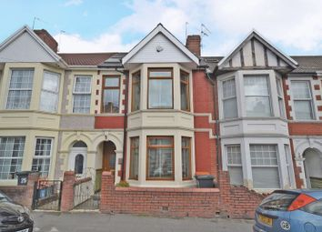 Thumbnail 4 bed terraced house for sale in Spacious Bay-Fronted House, Walmer Road, Newport