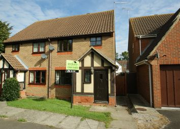 Thumbnail 3 bed semi-detached house to rent in Almond Close, Orchard Heights, Ashford