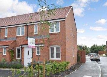 Thumbnail 2 bed end terrace house for sale in Filkins Close, Tangmere, Chichester, West Sussex
