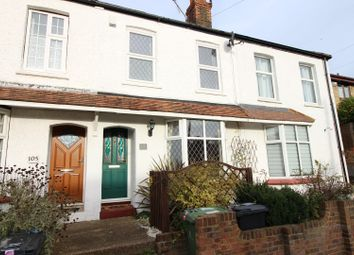 Thumbnail 2 bed terraced house for sale in Rosebery Road, Epsom