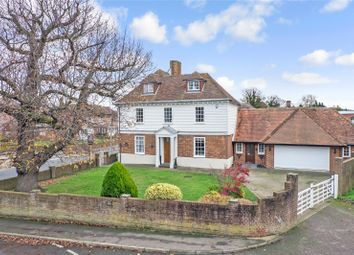 Thumbnail 6 bed detached house for sale in Hever Court Road, Gravesend