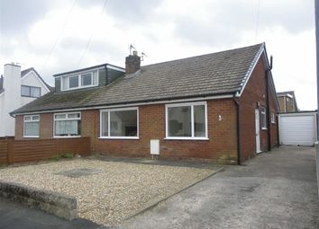 Thumbnail 2 bed semi-detached bungalow to rent in Northgate, Goosnargh, Preston