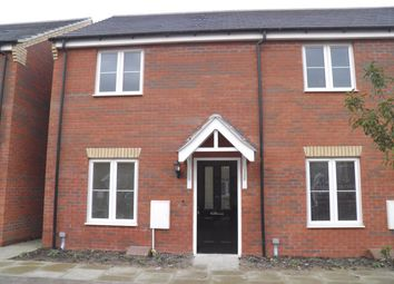 Thumbnail 2 bedroom end terrace house to rent in Whitby Avenue, Eye, Peterborough, Cambridgeshire