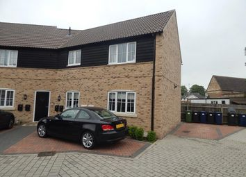 Thumbnail 2 bedroom flat to rent in Weir Cottage Close, Eaton Ford, St. Neots