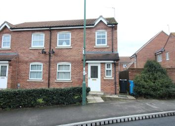 Thumbnail 3 bed semi-detached house for sale in Hall Leys Park, Kingswood, Hull