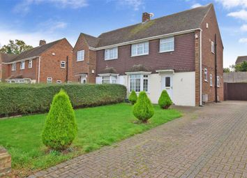 Thumbnail 3 bedroom semi-detached house for sale in The Avenue, Greenacres, Aylesford, Kent