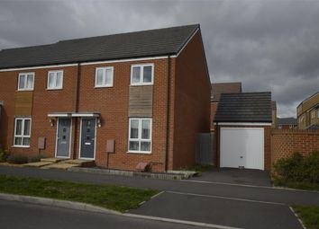 Thumbnail 3 bed semi-detached house to rent in Sparrowbill Way, Patchway, Bristol