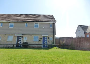 Thumbnail 2 bed terraced house for sale in Kestrel Avenue, Costessey, Norwich
