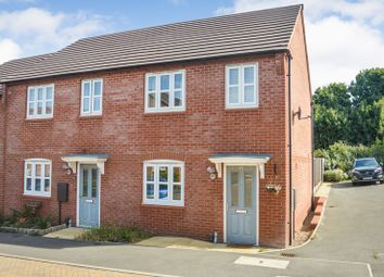 Thumbnail 3 bed town house for sale in Debdale Way, Mansfield Woodhouse, Mansfield