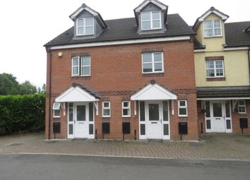 Thumbnail 3 bed town house for sale in Manorhouse Close, Walsall