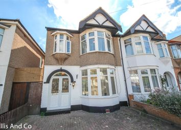 Thumbnail 4 bed semi-detached house for sale in Bawdsey Avenue, Ilford