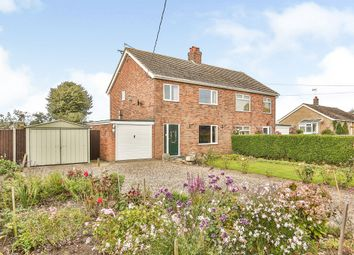 Thumbnail 3 bed semi-detached house for sale in The Common, Freethorpe, Norwich