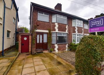 3 bed semi-detached house for sale in Greenville Road, Bebington, Wirral CH63