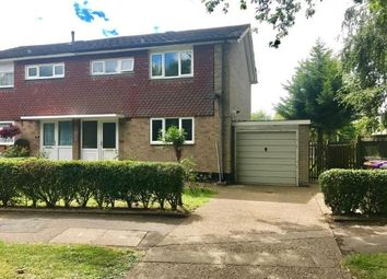 Thumbnail 3 bed semi-detached house for sale in Radburn Way, Letchworth Garden City, Hertfordshire, England