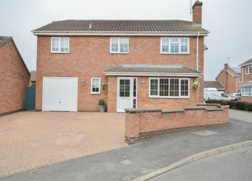Thumbnail 4 bed detached house for sale in Hemmerley Drive, Whittlesey, Peterborough
