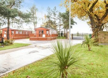 Thumbnail 2 bed detached house for sale in Oak Tree Lodge, Cliffe Country Lodges, Cliffe Common, Selby