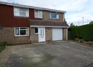 Thumbnail 4 bed semi-detached house for sale in Bridge Close, Gillingham