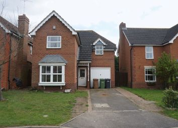 Thumbnail 3 bed detached house to rent in Brickberry Close, Hampton Hargate, Peterborough