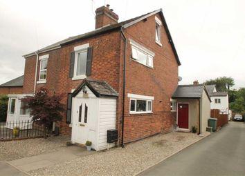 Thumbnail 3 bed semi-detached house for sale in School Lane, Gobowen, Oswestry