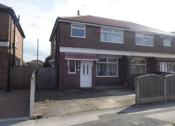 Thumbnail 3 bedroom semi-detached house for sale in Windsor Avenue, Irlam, Manchester, Greater Manchester