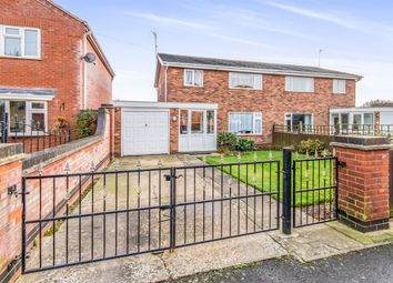 Thumbnail 3 bed semi-detached house for sale in Lyndhurst Avenue, Skegness