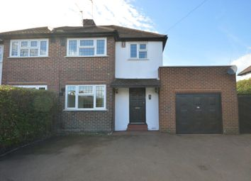 Thumbnail 3 bed semi-detached house to rent in The Hawthorns, Epsom