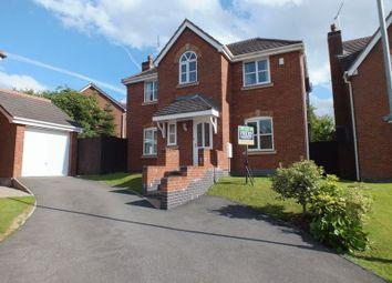 Thumbnail 4 bed detached house to rent in Pen-Y-Bont Walk, Knypersley, Biddulph