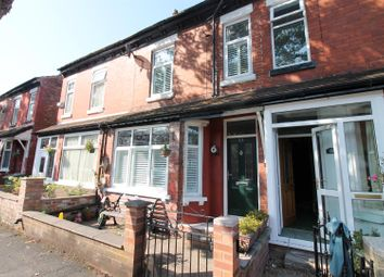 Thumbnail 3 bed terraced house for sale in Delamere Road, Urmston, Manchester