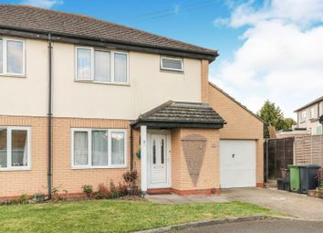 Thumbnail 3 bedroom semi-detached house for sale in Fairfield Drive, Broxbourne