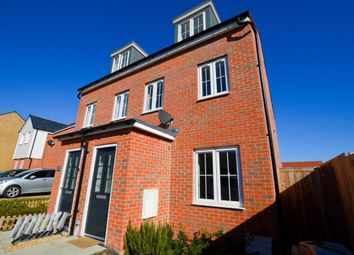 Thumbnail 3 bedroom property to rent in White Clover Close, Stone Cross, Pevensey