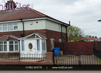 Thumbnail 2 bed semi-detached house to rent in 31st Avenue, Hull