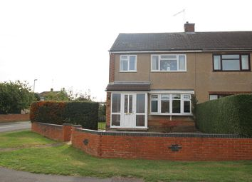 Thumbnail 3 bed semi-detached house for sale in Rawley Crescent, Duston, Northampton