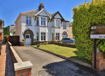 Thumbnail 3 bedroom semi-detached house for sale in Thornhill Road, Llanishen, Cardiff